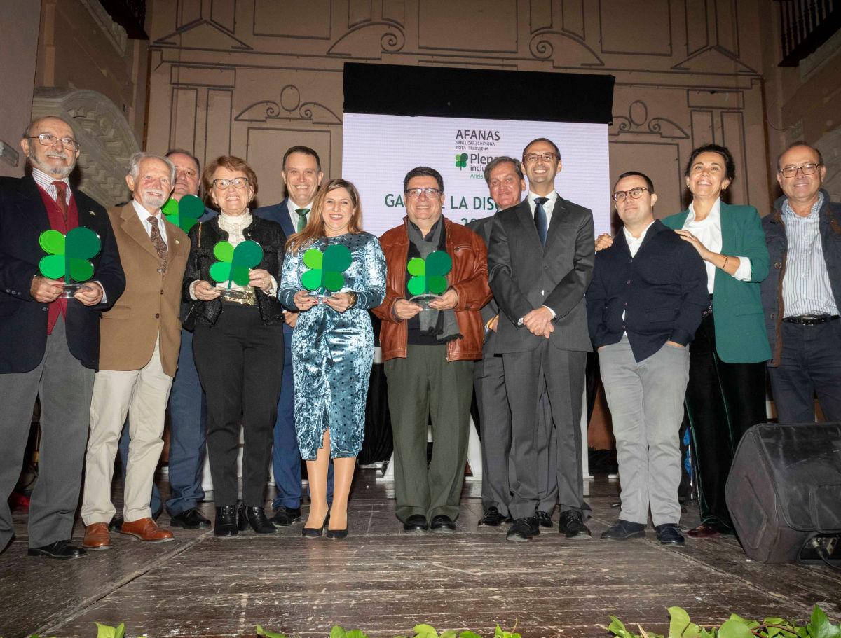 Gala de la discapacidad AFANAS