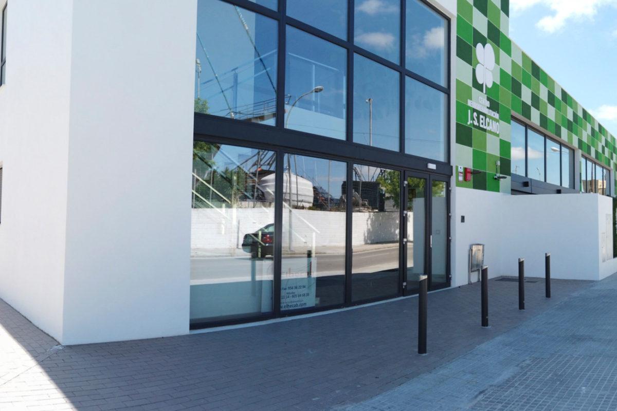 Fachada Centro de Rehabilitación 'JS Elcano'